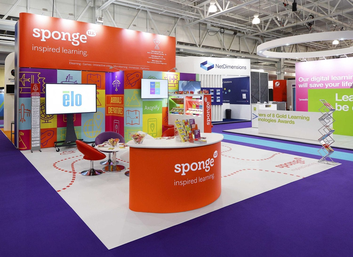 Stand in exhibition hall UK: The Exhibition Guy - Exhibition planning